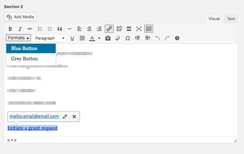 Custom Style Formats for WordPress WYSIWYG Editor | Ace Goulet